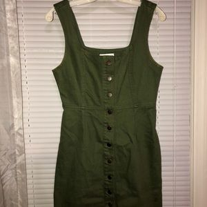 Urban Outfitters buttoned up dress